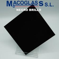 Metacrilato Negro Brillo