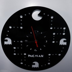 Reloj de metacrilato comecocos