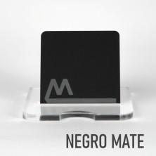 Metacrilato Negro Brillo/Mate