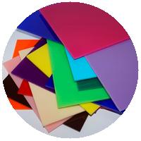 Metacrilato de Colores - Transparente u Opaco - Corte a Medida